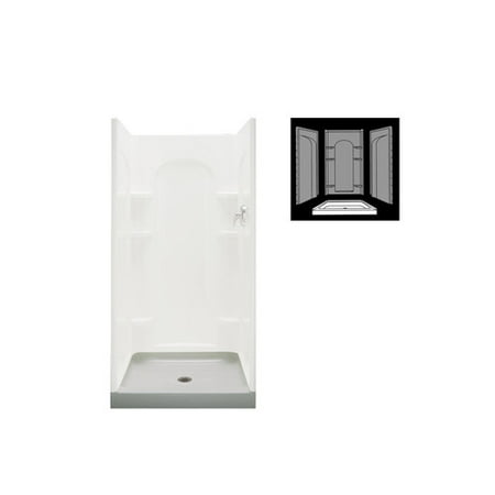 Sterling 42  X 34  White Ensemble Shower Receptor