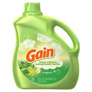 Gain Liquid Fabric Softener, Original, 150 loads, 129 fl oz