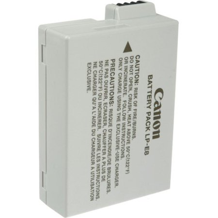 Canon LP-E8 Camera Battery Can LP-E8 Battery Pack for Can Digital Rebel T2i and T3i Digital SLR Cameras  Retail Package