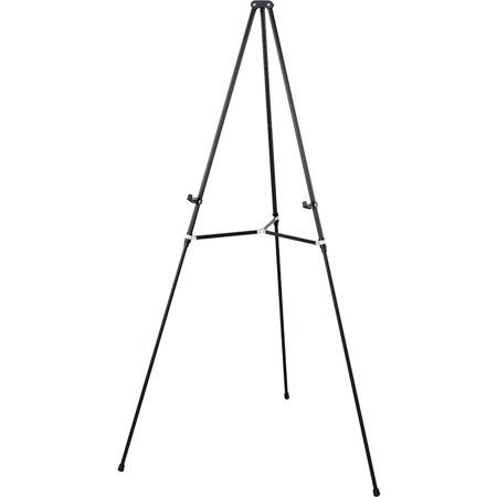 Quartet Aluminum Lightweight Telescoping Display Easel, 66