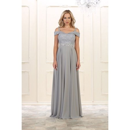 MQ - Long Plus Size Prom Dress Formal Gown - Walmart.com