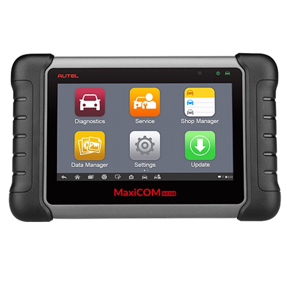 Autel MaxiCOM MK808 Diagnostic Tool Automotive Scanner IMMO/EPB/SAS/BMS/TPMS/DPF Service Code Reader Seven-inch Touchscreen Android Tablet With Update Online