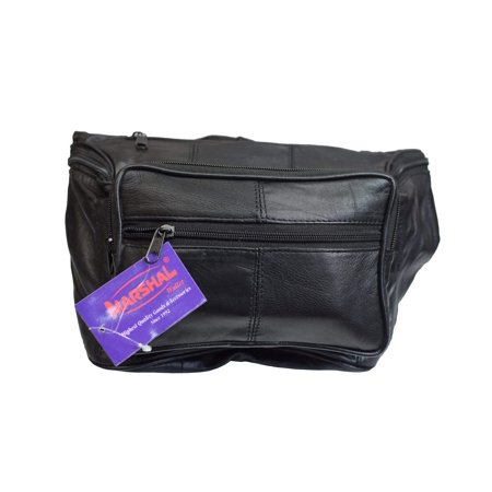 Genuine Leather Concealed Carry Weapon Waist Pouch Fanny Pack Gun Conceal Purse for Both Men & (Best Concealed Carry Weapon For Females)