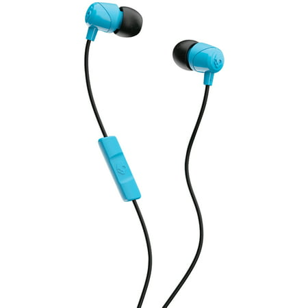 0df2d5cbfb3 Skullcandy S2DUYK-628 JIB In-Ear Earbuds With Microphone (Blue) -  Walmart.com