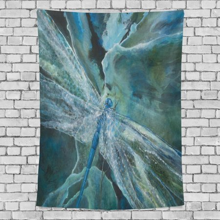 POPCreation Light Refraction Of Dragonfly Wings Home Decoration Wall Tapestry 90x60 inches