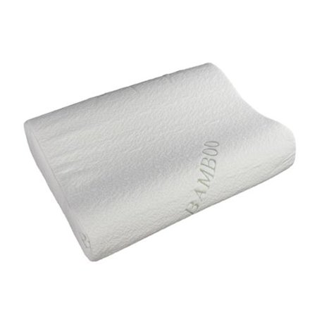 Sinomax Memory Foam Traditional Travel Pillow : Sinomax USA Sinomax Sleep Natural Contour Memory Foam Pillow - Walmart.com
