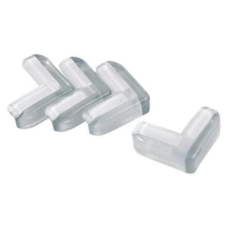 Glass Table Desk Corner Edge Protector Cushion Guard Bumper 4pcs ()
