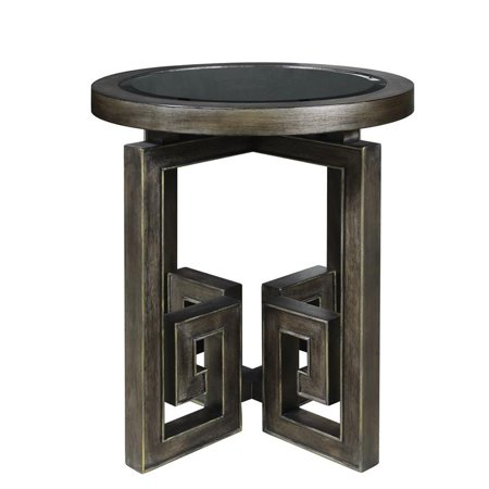 Pulaski Albyn Greek Key Leg Table