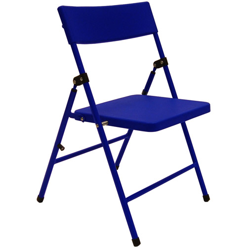Cosco Juvenile Folding Chairs - Set of 4, Blue