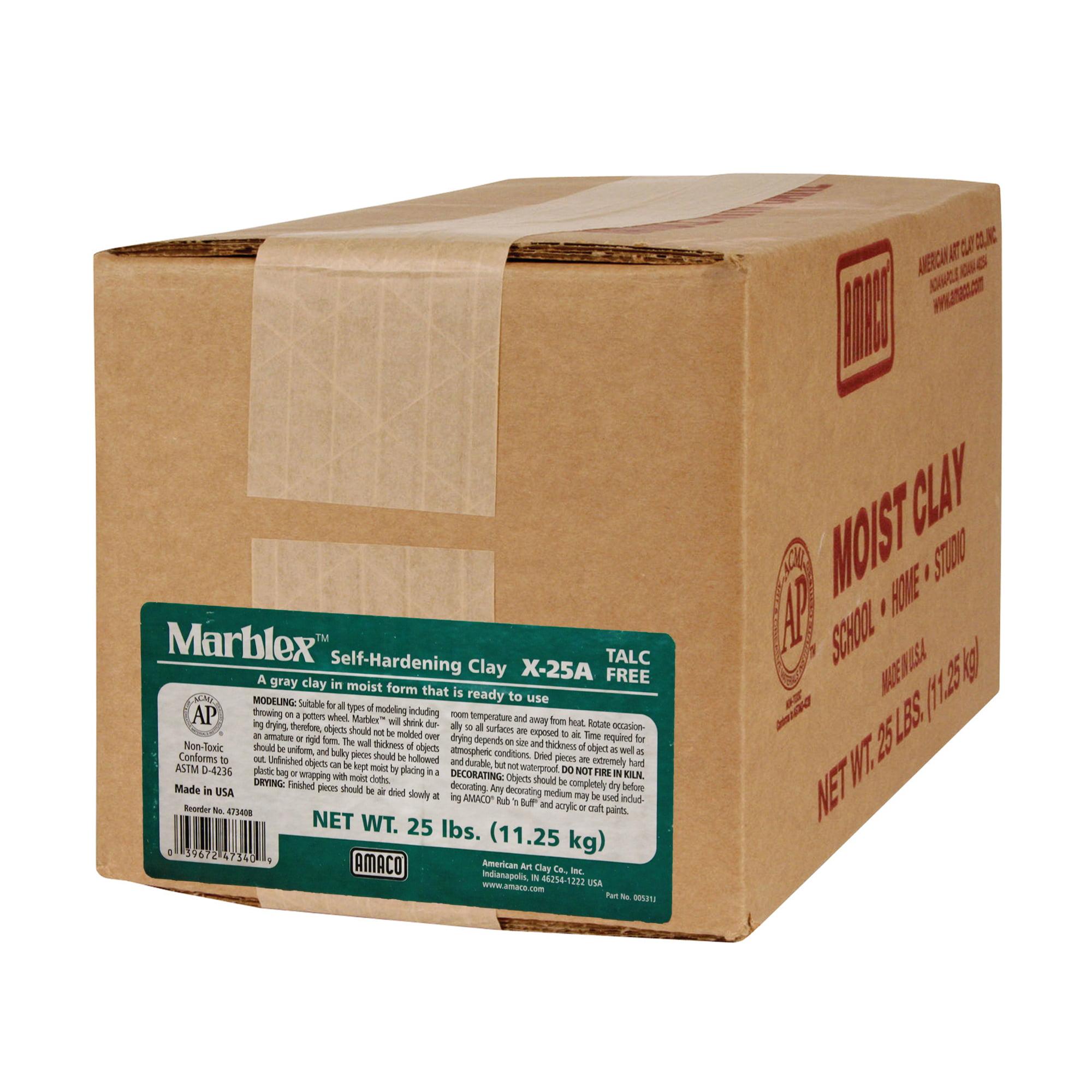 Marblex™ Self-Hardening Clay, 25 lbs.