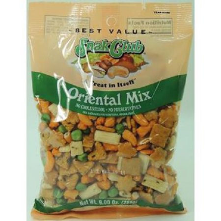 Product Of Snak Club, Premium Oriental Party Mix, Count 6 (7 oz) - Snacks / Grab Varieties & Flavors ()