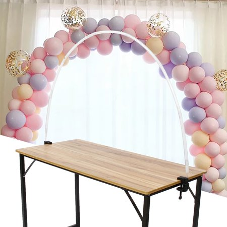 Balloon Arch Kit Adjustable for Different Table Sizes Birthday, Wedding, Christmas, and Graduation Party ()