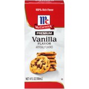 (2 Pack) McCormick Premium Vanilla Flavor, 4 fl oz