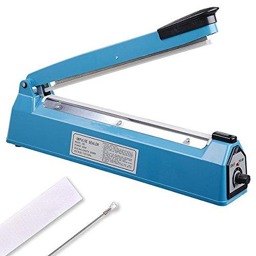 """MegaBrand Bag Sealer Handheld Heat Impulse Sealing Machine 12"""" by MegaBrand"""
