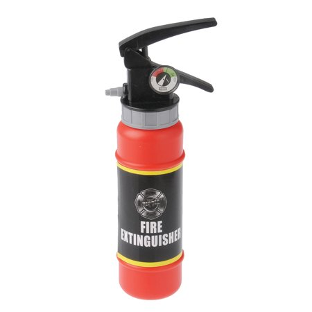 Fire Fighter Fake Water Squirt Gun Toy Extinguisher 12 Pack Costume Accessory