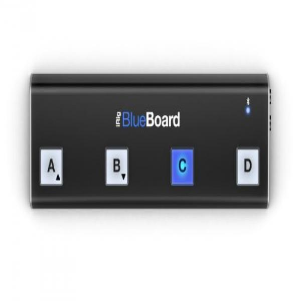 IK Multimedia iRig Blueboard wireless floor controller by IK Multimedia Production srl