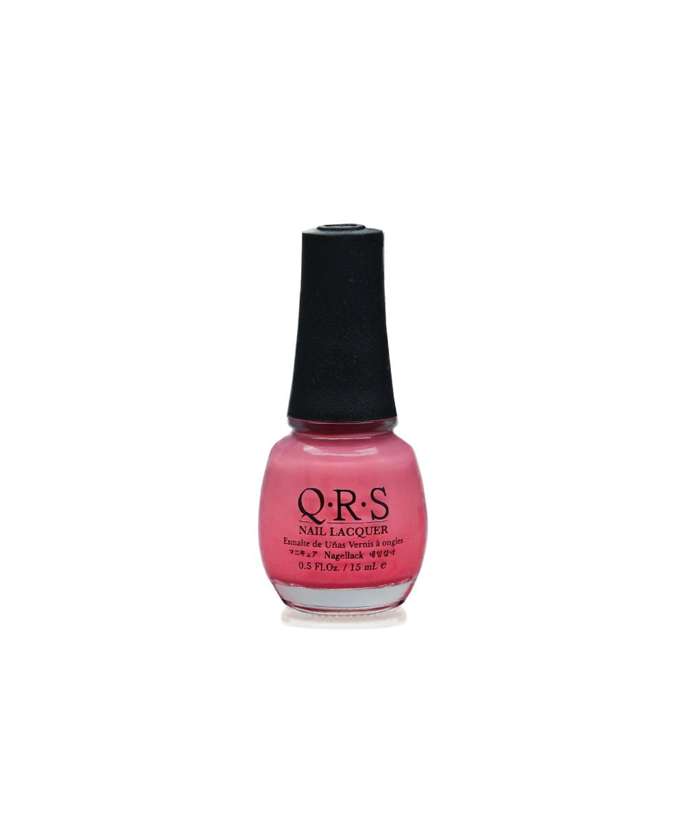 """QRS M19 """"Elephant"""" Pink Tone Nail Polish"""