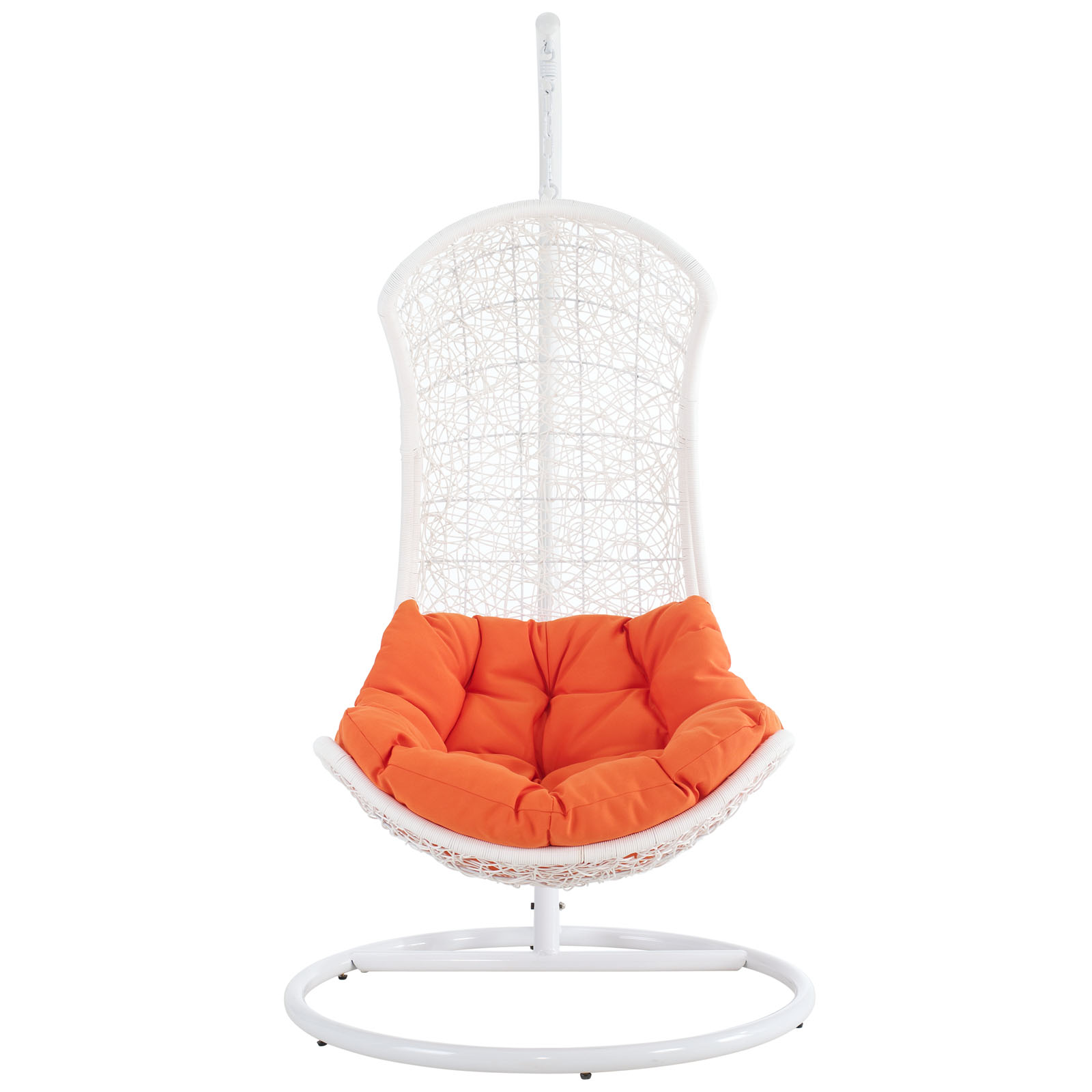 Modern Contemporary Outdoor Patio Rattan and Wicker Swing...