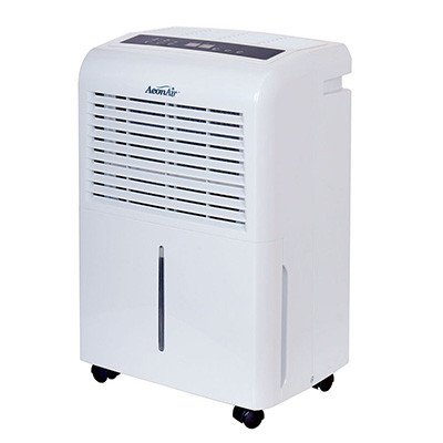 AeonAir 70 Pint 2 Speed Auto Restart Dehumidifier RDH70EB Refurbished
