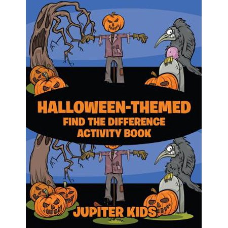 Halloween-Themed Find the Difference Activity Book](Halloween Art Activities For 5th Class)