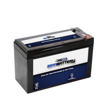 12V 7.8AH 94W SLA Battery - T1 Terminals Replaces 12V 7ah or 8ah