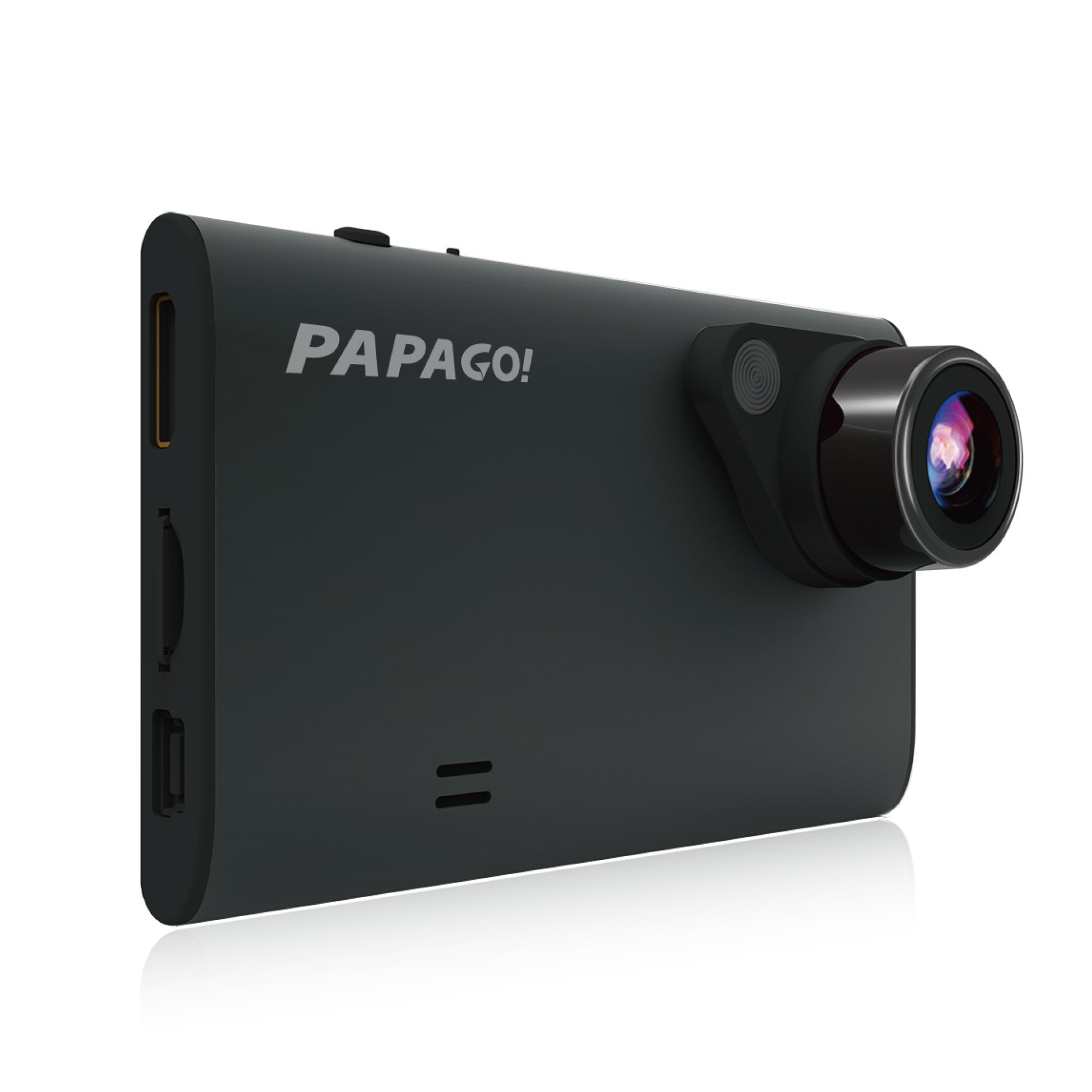 Papago GoSafe 550 Super HD 1296p 160 Degree Ultra Wide Angle Dash Cam with 8GB Micro SD Card