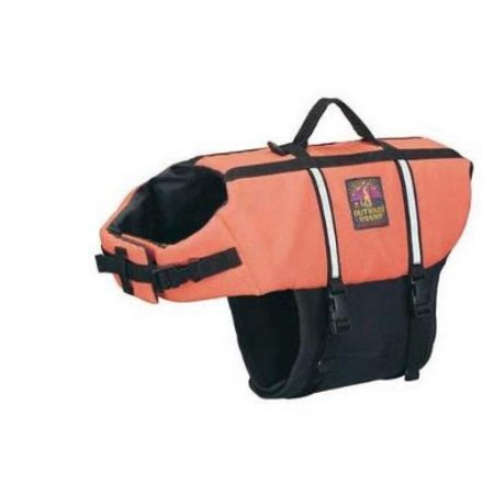 Outward Hound Kyjen Pet Saver Life Jacket, Medium, Orange