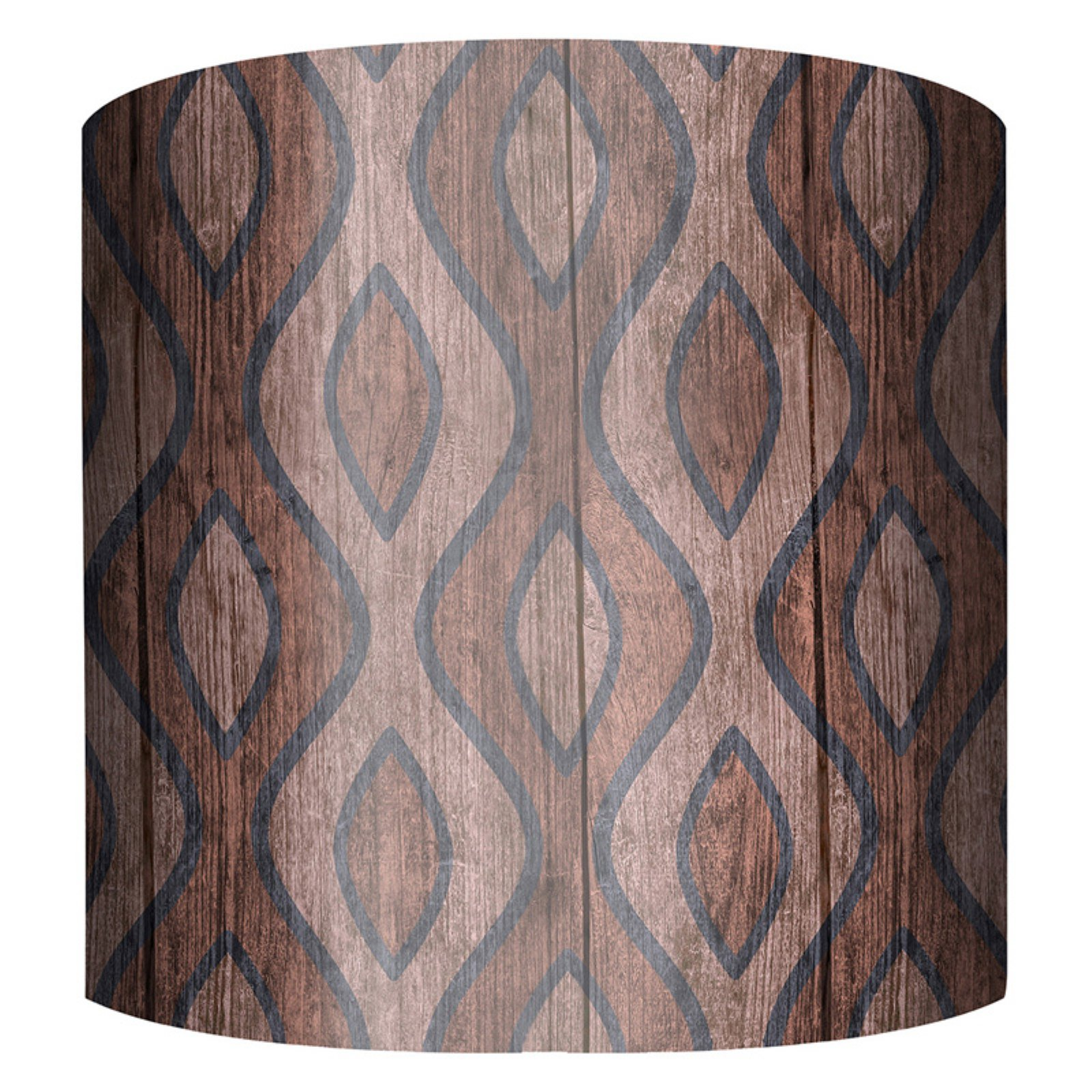 PTM Images Curves B Drum Lamp Shade