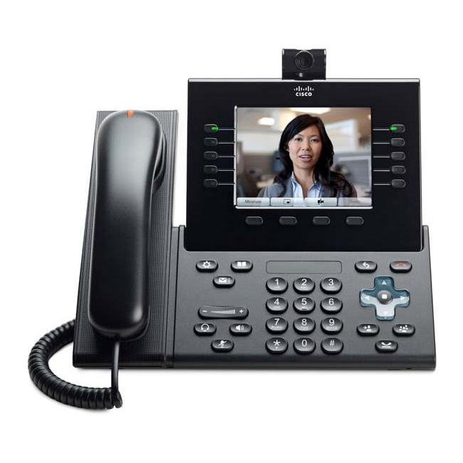 Cisco 9951 IP Phone Bluetooth VoIP Caller ID USB PoE Ports Color by Cisco