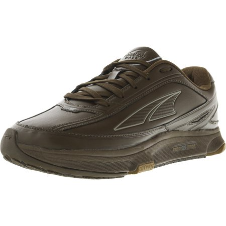 Altra Footwear Men's Provision Walking Shoes Black Box Leather Footwear