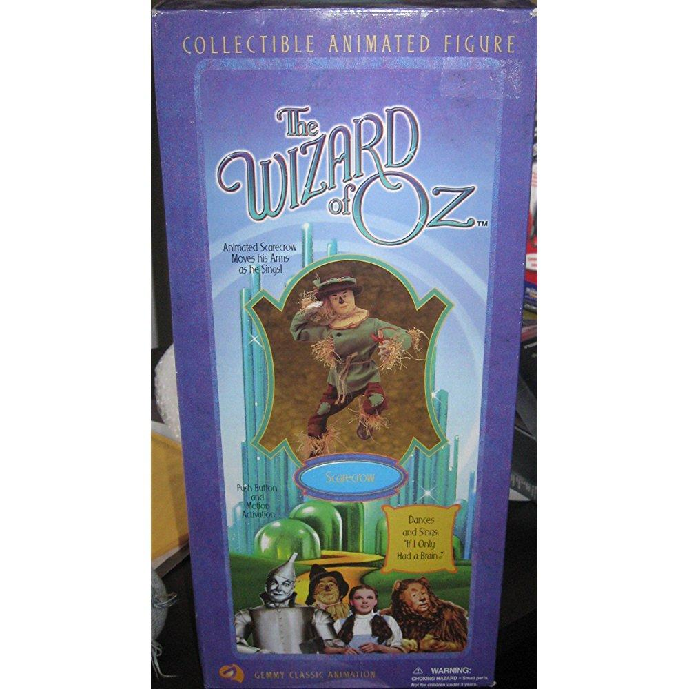 the wizard of oz - 14 singing scarecrow animated collecti...