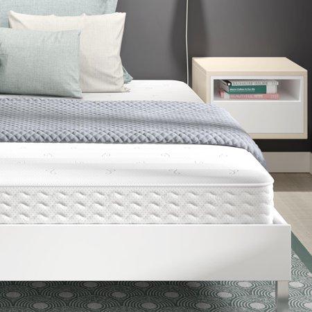 signature sleep contour 8 independently encased coil mattress multiple sizes. Black Bedroom Furniture Sets. Home Design Ideas