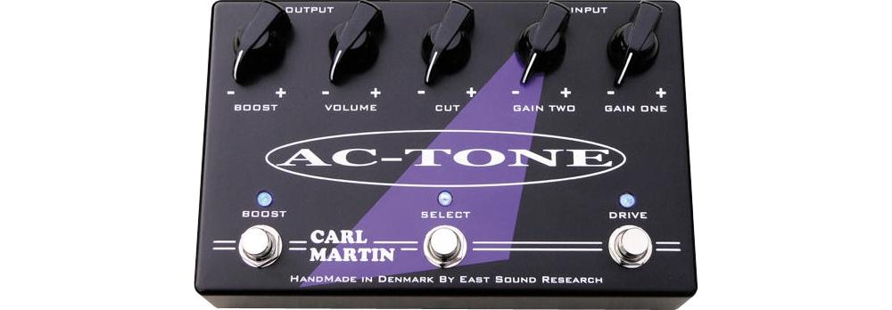 Carl Martin AC-Tone Dual Overdrive Pedal by Carl Martin