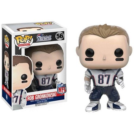 Funko Pop  10228 Nfl Wave 3 New England Patriots Rob Gronkowski Vinyl Figure