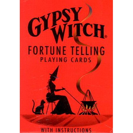 Gypsy Witch Fortune Telling Cards - Mysterious Fortune Cards