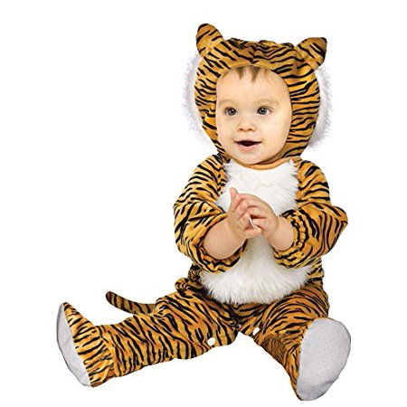 Cuddly Tiger Infant Costume - Infant (12-24 Months)](12-24 Month Halloween Costumes)