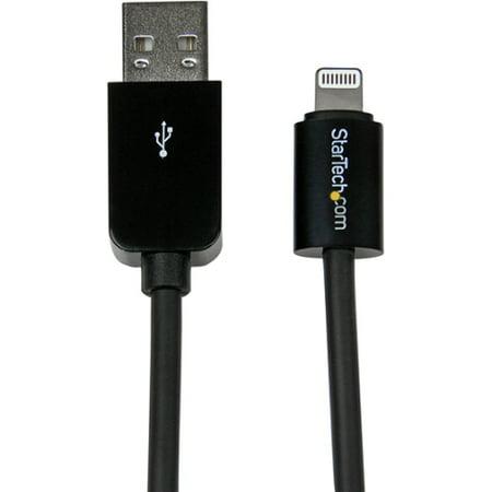 Startech.Com USBLT3MB 10 Ft Black 8 Pin Lightning To Usb Cable