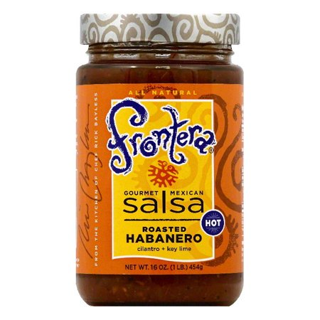 (Frontera Hot Roasted Habanero Gourmet Mexican Salsa, 16 OZ (Pack of 6))