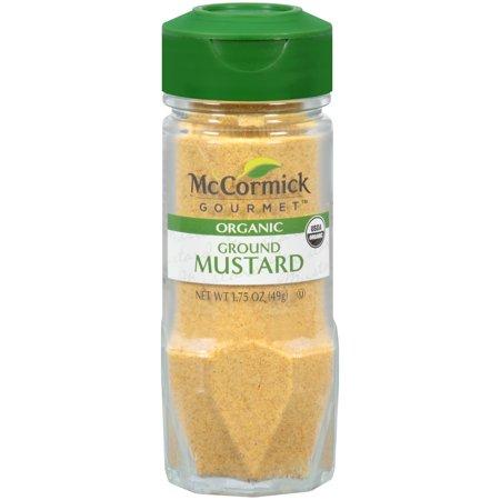 - McCormick Gourmet Organic Ground Mustard, 1.75 oz
