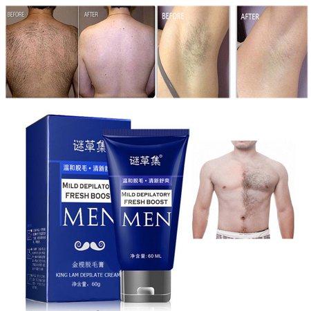 Man's Permanent Body Hair Removal Cream Hand Leg Hair Loss Depilatory