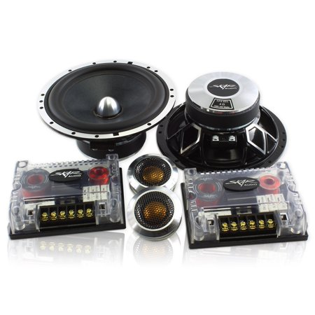 Skar Audio SPX-65C 6.5-Inch 2-Way 400 Watt Performance Component Speaker