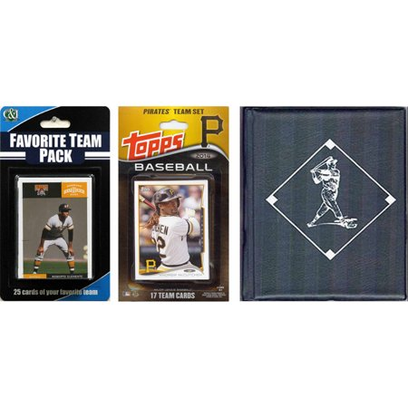 C&I Collectables MLB Pittsburgh Pirates Licensed 2014 Topps Team Set and Favorite Player Trading Cards Plus Storage Album](Halloween Store Pittsburgh)