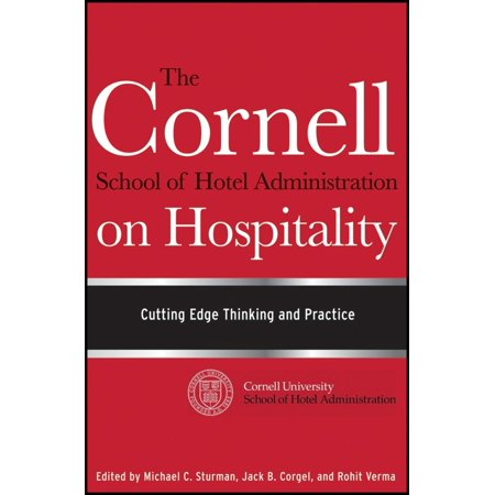 The Cornell School Of Hotel Administration On Hospitality  Hardcover