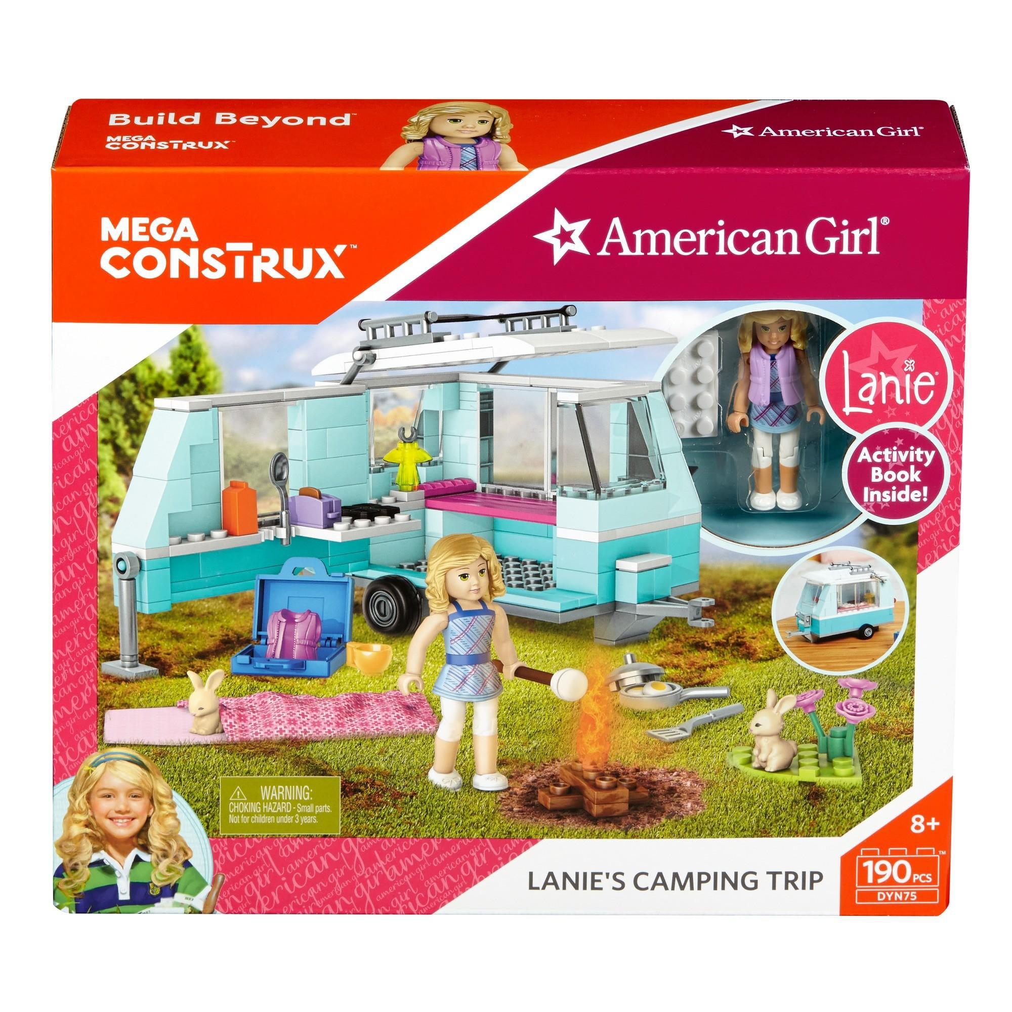 Mega Construx American Girl Lanie's Camper Building Set by MATTEL INC.