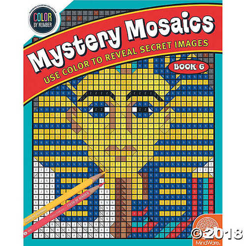 Color by Number Mystery Mosaics: (Book 6)](Mosaic Books)