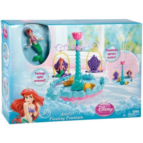 Disney Princess Ariel's Floating Fountain Play Set by Mattel, Inc.