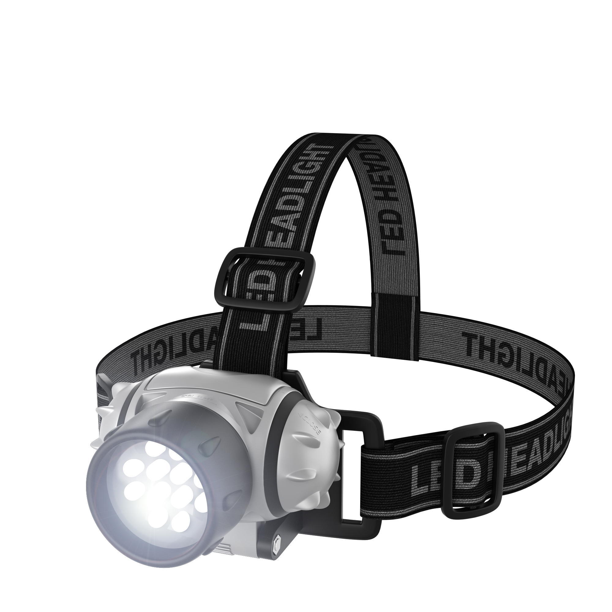 Stalwart 12 LED Headlamp with Adjustable Strap by TRADEMARK GAMES INC