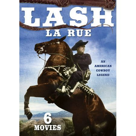 Lash La Rue 6-Film Collection: Volume 2 (DVD)