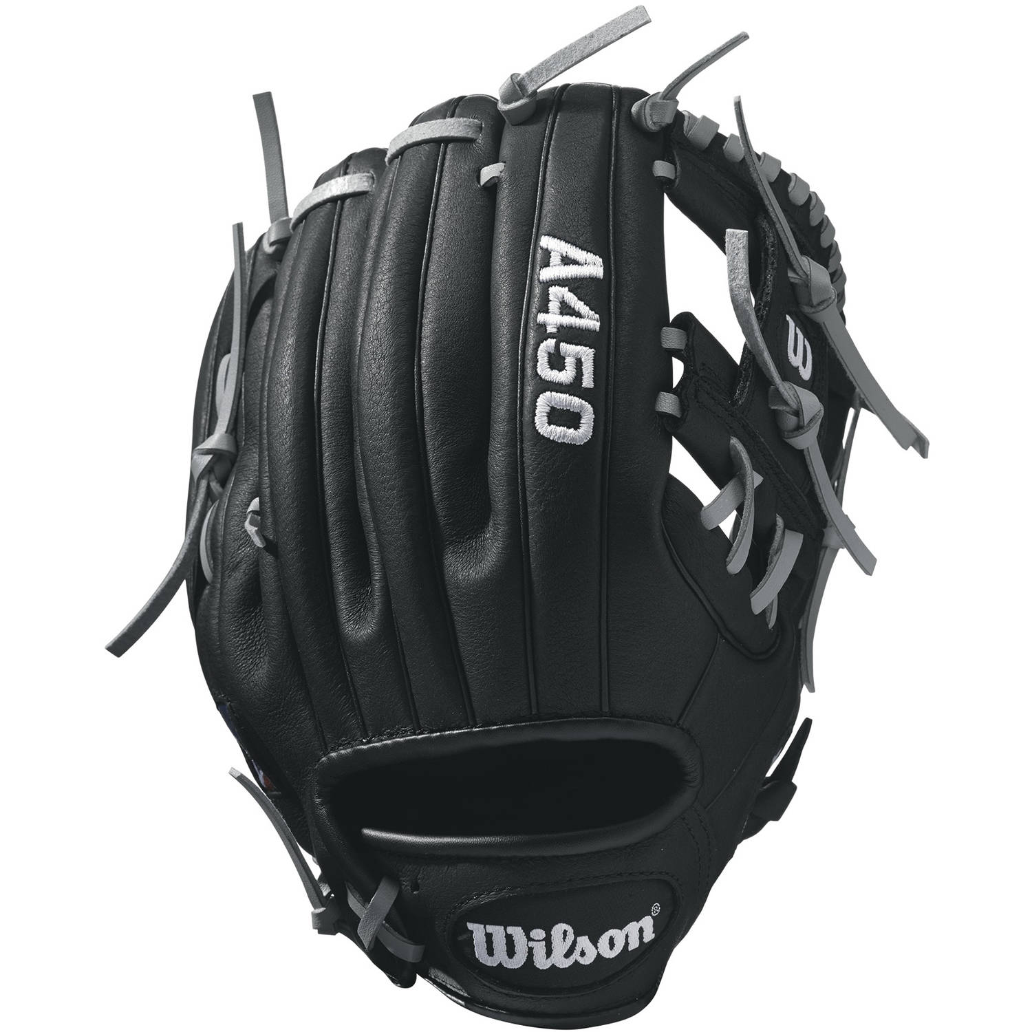 Wilson Sporting Goods A450 Advisory Staff Pedroia All-Position Baseball Glove, 10.75""