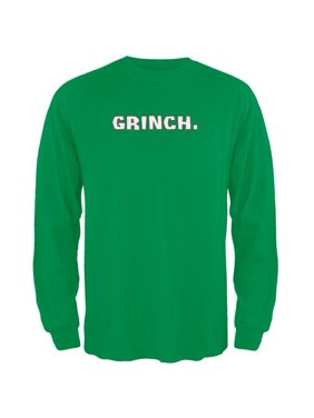 6e38df2874e Product Image Grinch Green Adult Long Sleeve T-Shirt
